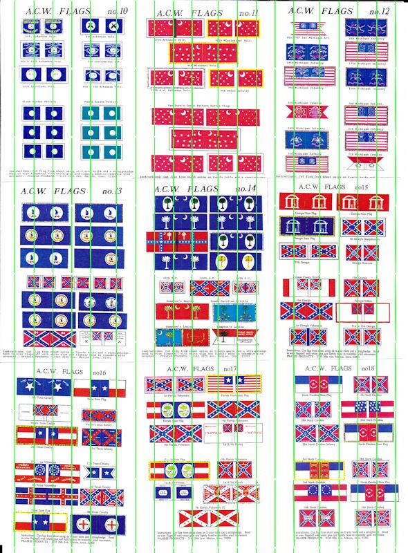 ACW Flags: ACWF10 - ACWF18