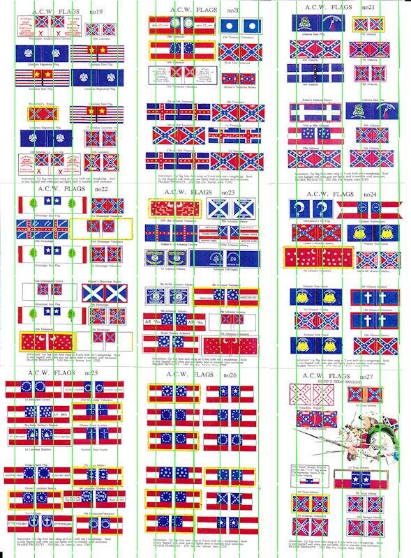 ACW Flags: ACWF19 - ACWF27