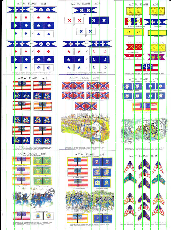 ACW Flags: ACWF28 - ACWF36