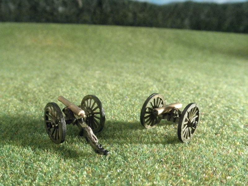 15mm ACW Artillery: ACW100 Napoleon 12 pound