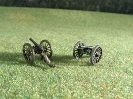 15mm ACW Artillery: ACW102 Parrott 10 pound / ACW103 Ordnance Rifle 12 pound