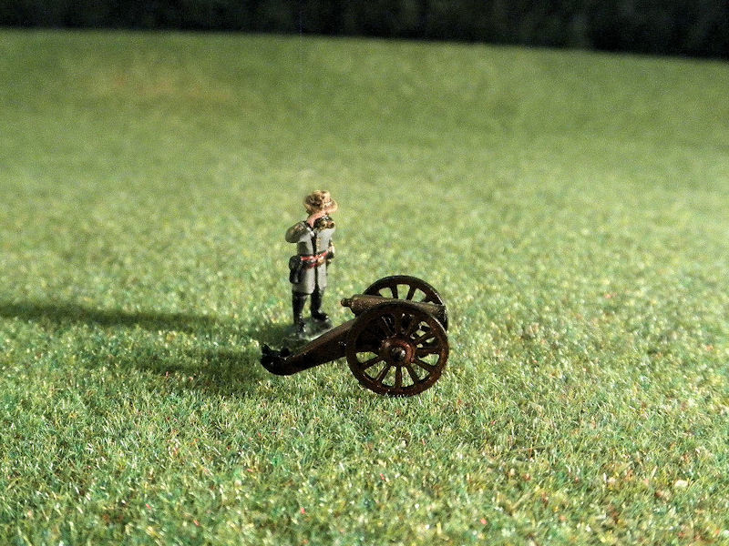 15mm ACW Artillery: ACW105 Mountain Guns: Howitzers 12 pound & Rifles 12 pound