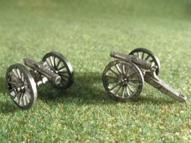 15mm ACW Artillery: ACW106 Howitzers: 24 pound & 32 pound