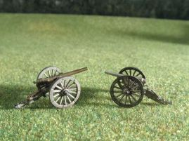15mm ACW Artillery: ACW108 Whitworth Rifle 12 pound & Armstrong Rifle 12 pound