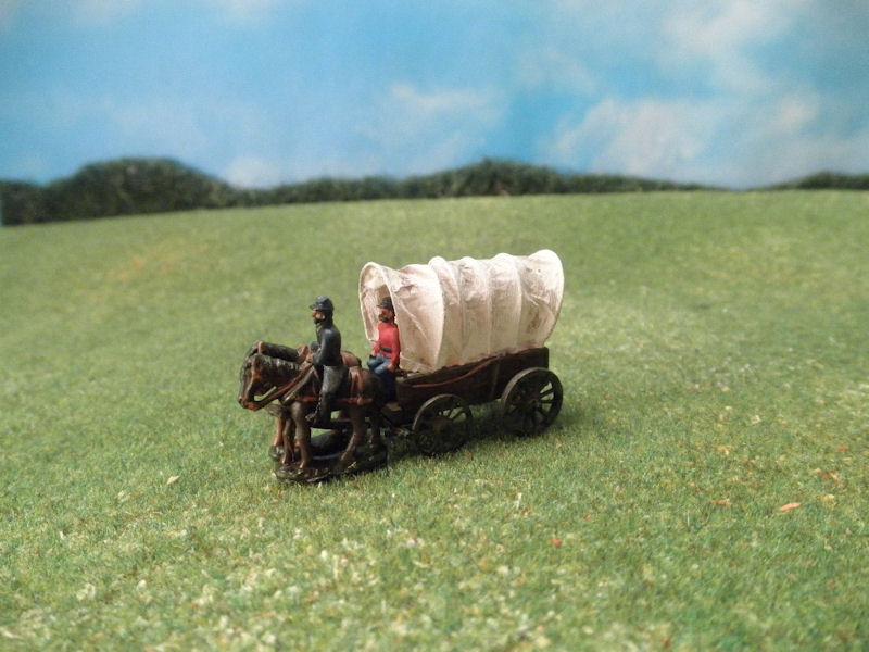 ACW129: 15mm Supply Wagon Kit