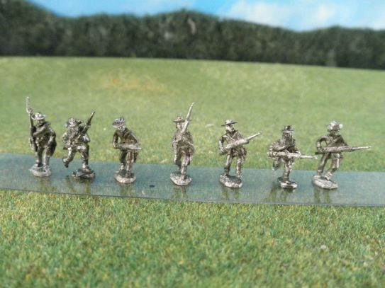 15mm ACW Infantry: ACW16 Soft Hat, Advancing & Charging