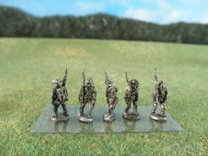 15mm ACW Infantry: ACW17 Soft Hat, Marching, Slope Arms