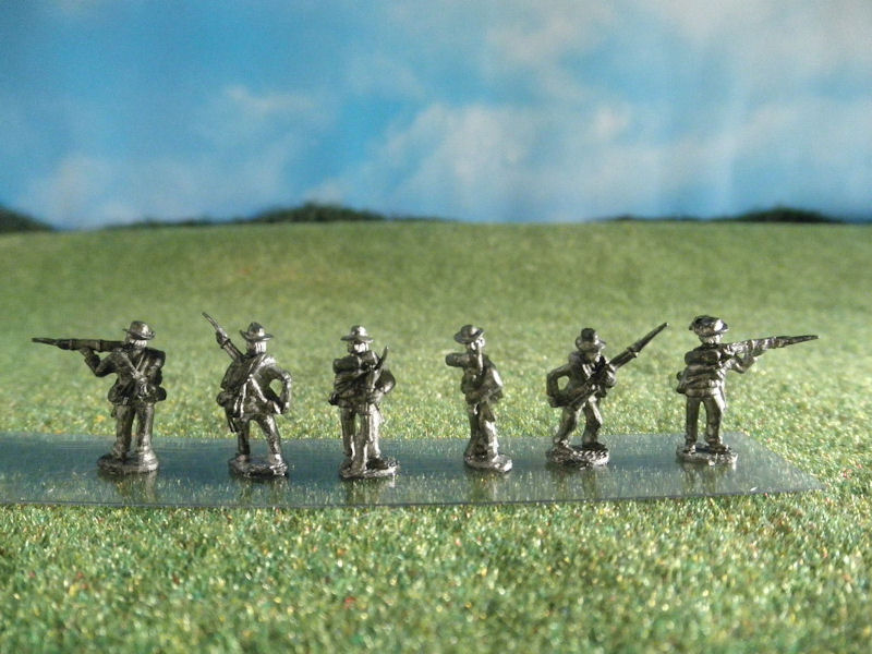 15mm ACW Infantry: ACW18 Soft Hat, Combat
