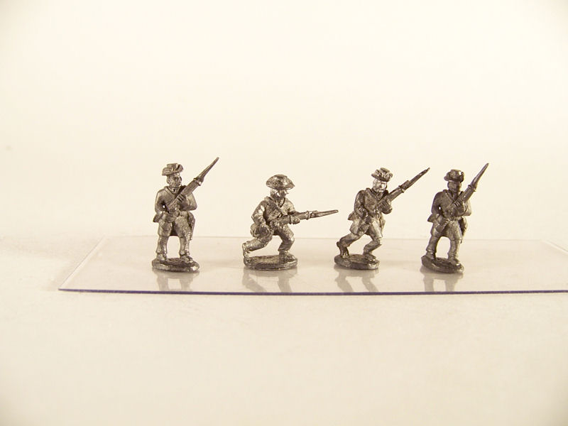 15mm ACW Infantry: ACW31 Hardee Hat in Frock Coat, Advancing & Charging