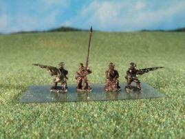 15mm ACW Infantry: ACW5 Kepi, Kneeling Firing
