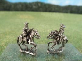 15mm ACW Cavalry: ACW 61 - ACW62 Soft Hats with Shotguns