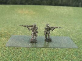 15mm ACW Infantry: ACW8 Kepi in Frock Coat, Combat