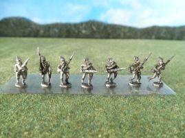 15mm ACW Infantry: ACW9 Kepi Bucktail, Advancing & Charging