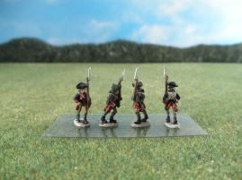15mm AWI Infantry: ARV1 Line Infantry, Marching, Slope Arms