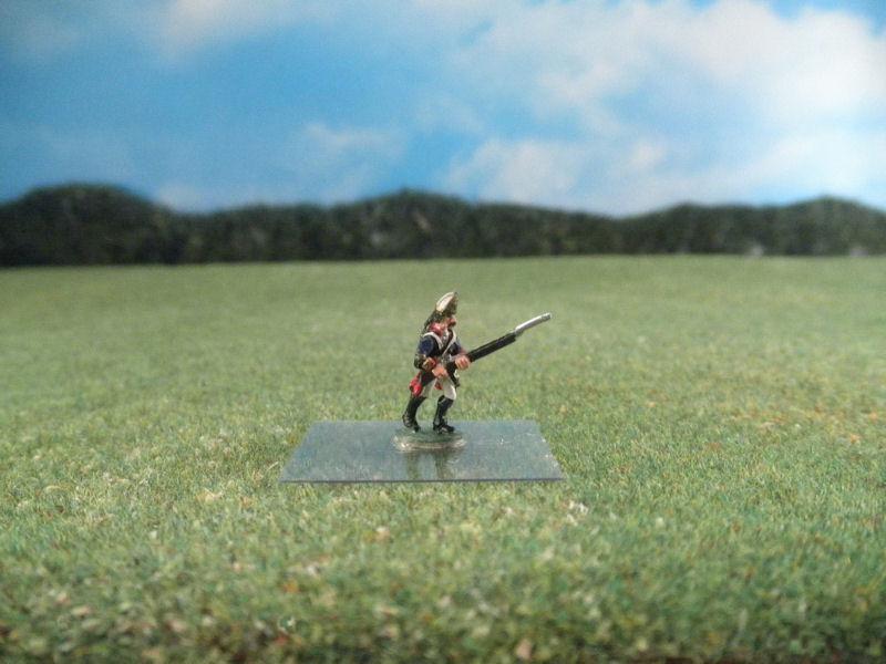 15mm AWI Infantry: ARV33 Hessian Grenadiers, Advancing