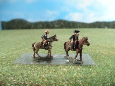 15mm AWI Command: ARV48 Mounted Generals