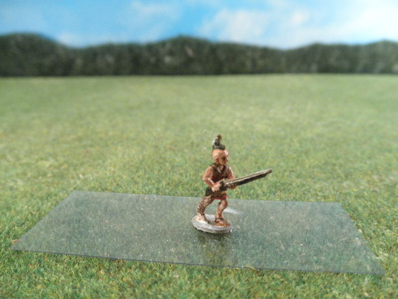 15mm AWI Infantry: ARV50 Iroquois Indians, Advancing