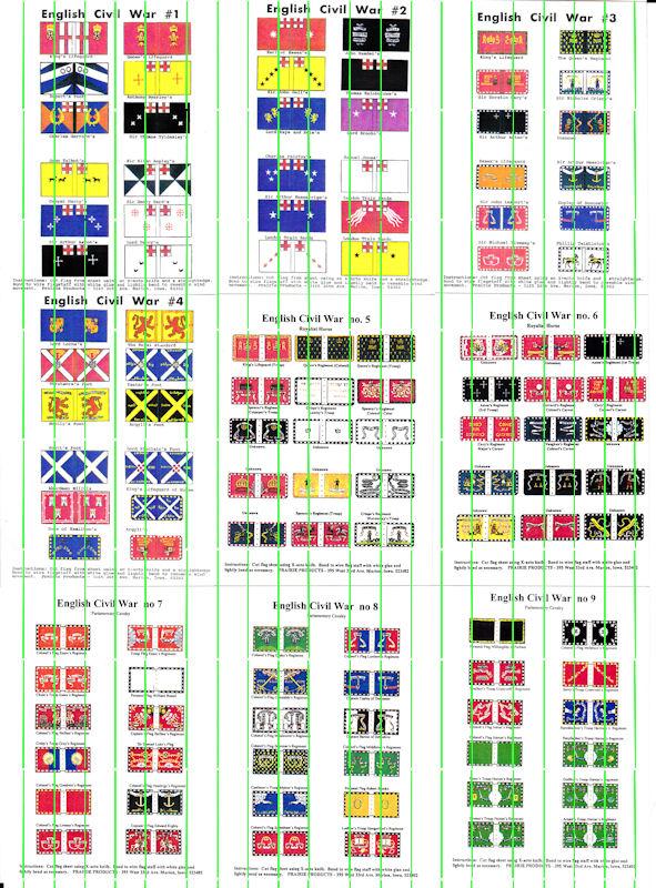 ECW Flags: ECWF1 - ECWF9