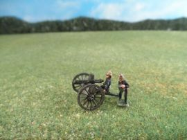 15mm British Colonials: LBN117 British Artillery: Gatling Guns with Crew