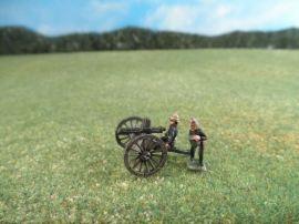 15mm British Colonials: LBN117 British Artillery: Gatling Guns with Crew