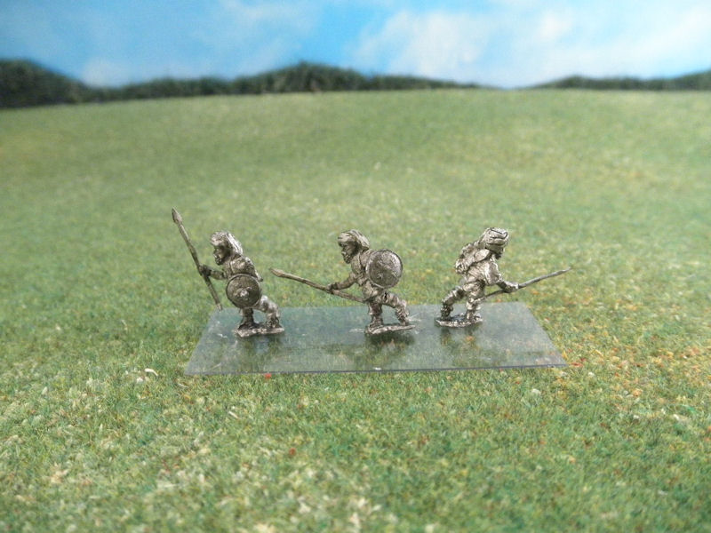 15mm British Colonials: LBN169 Dervish Infantry with Spears