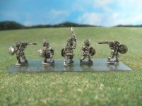 15mm British Colonials: LBN180 Pathan Infantry with Swords