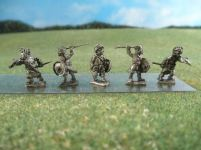15mm British Colonials: 15mm Pathan Infantry: LBN181 Pathan Infantry with Spears