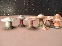 25mm Science Fiction & Fantasy Terrain: FAN200 Alien Fungus Plants