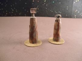 6mm Science Fiction Buildings & Terrain: FAN601 Laser Command Towers and Laser Towers