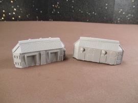 6mm Science Fiction Buildings & Terrain: FAN620 Industrial / Storage Buildings