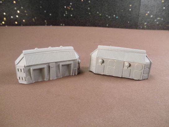 6mm Science Fiction Buildings & Terrain: FAN620 Industrial / Storage Buildings