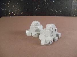 6mm Science Fiction Buildings & Terrain: FAN621 Research Lab Building