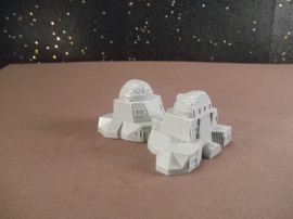 6mm Science Fiction Buildings & Terrain: FAN621 Research Lab Building