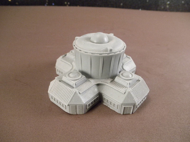 6mm Science Fiction Buildings & Terrain: FAN622 Power Station / Control Center