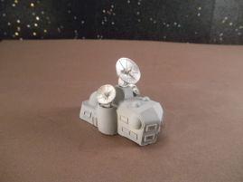 6mm Science Fiction Buildings & Terrain: FAN625 Communications Building