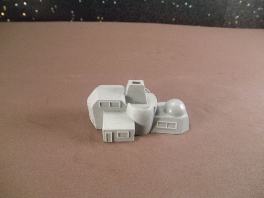 6mm Science Fiction Buildings & Terrain: FAN626 Civilian Residence