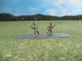 15mm British Colonials: LBN100 British Infantry, Advancing at Ready
