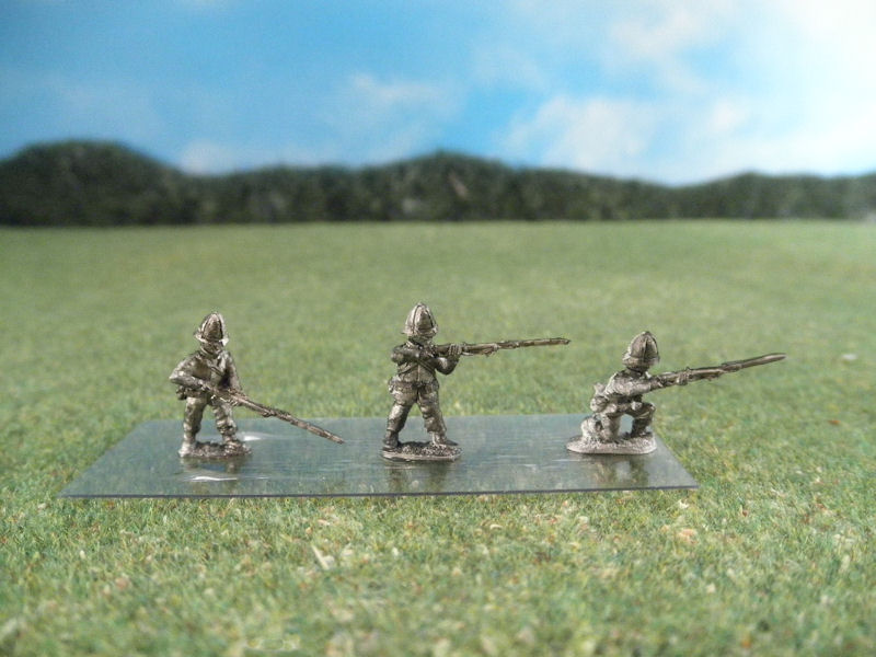 15mm British Colonials: LBN103 British Infantry, Firing and Loading