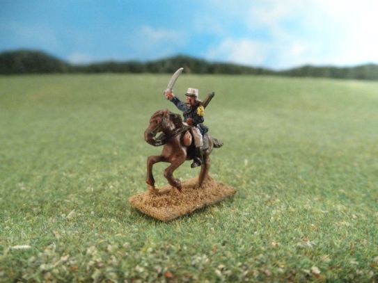 15mm French Colonials: LFA12 French Cavalry, Foreign Legion