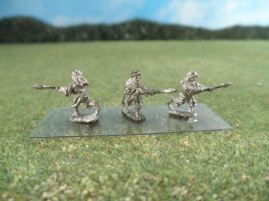 15mm French Colonials: LFA22 Arab Infantry, Bedouins Charging with Spears