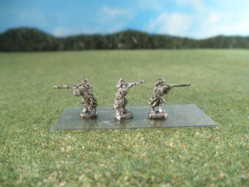 15mm French Colonials: LFA23 Arab Infantry, Bedouins Standing and Firing