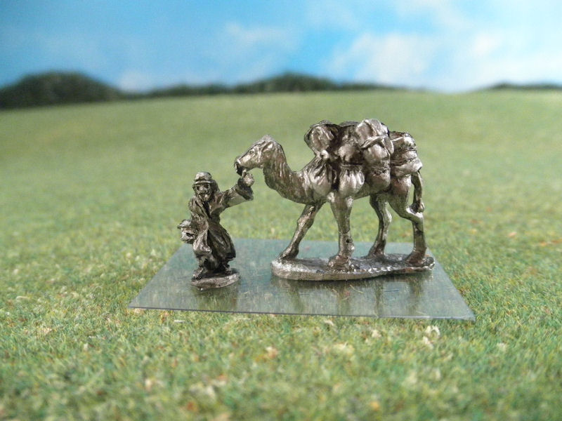 15mm French Colonials: LFA40 Arab Caravan with Camels, Drivers, & Foot Guards
