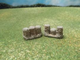 15mm Fortifications: TRF11 Gabions