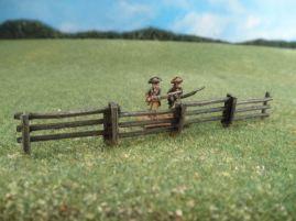 15mm Terrain: TRF2 Split 3-Rail Fence