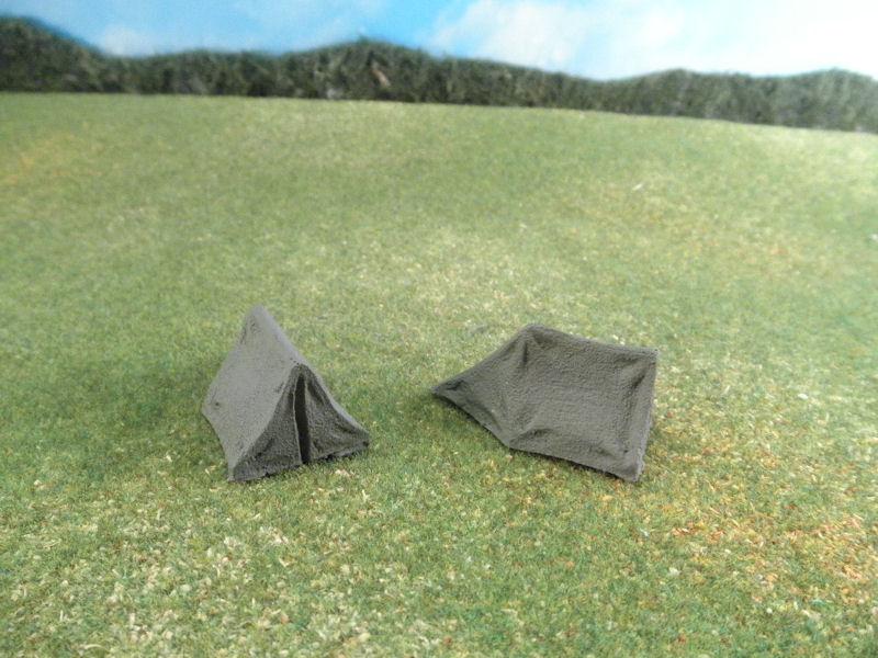 25mm Accessories: TRF210 1 Man Tents