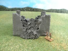 15mm Fortifications: TRF28 Breached Wall for Vauban Fort