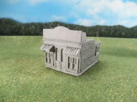 15mm ACW Buildings: TRF315 General Store, Brick with False Front