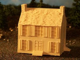 15mm ACW Buildings: TRF316 Bull Run Farmhouse, Style 1