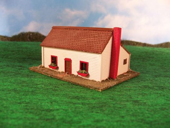 15mm ACW Buildings: TRF319 Gettysburg House