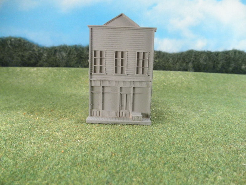 15mm ACW Buildings: TRF324 False Front Building, Style C